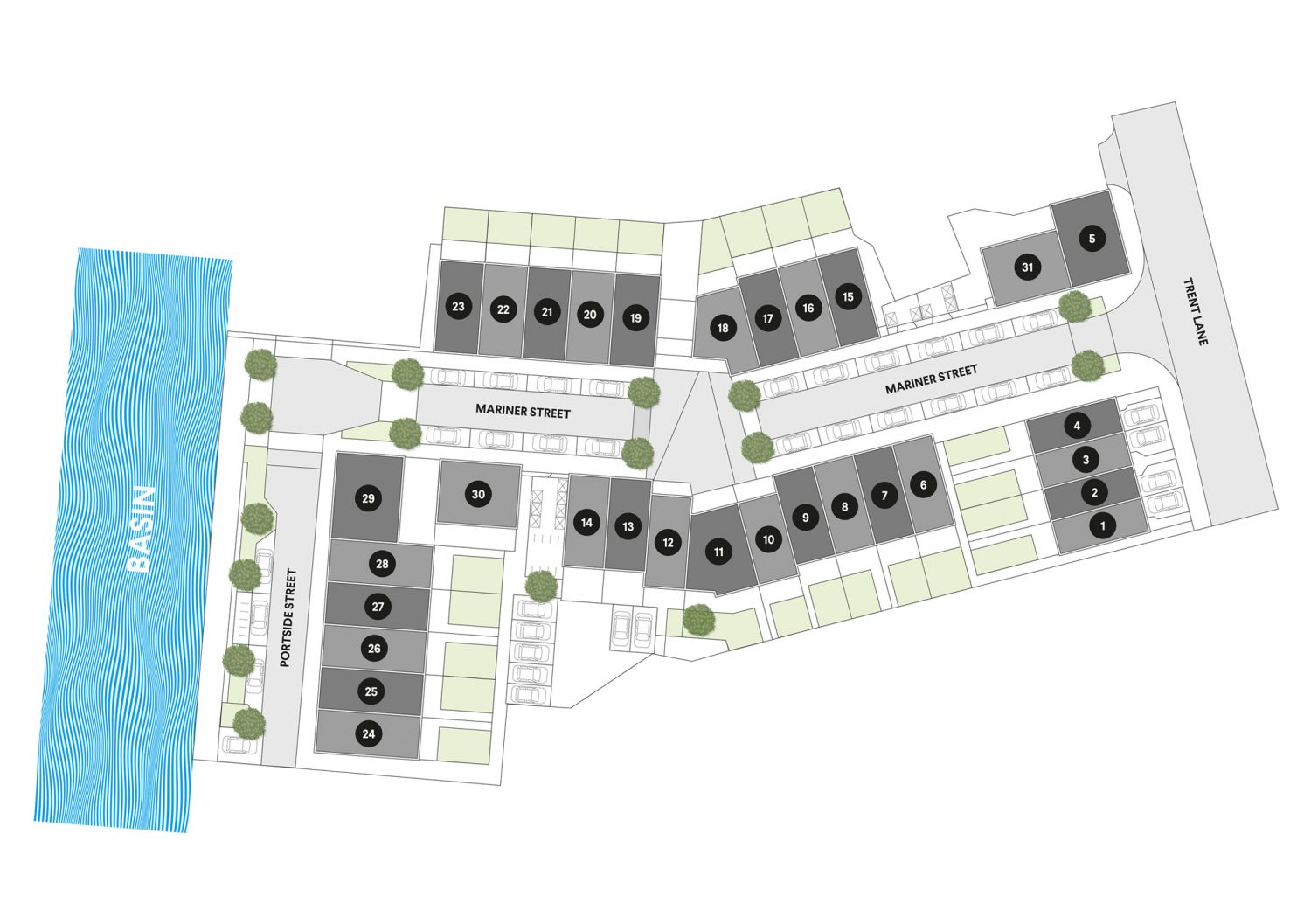Plot 13 site plan